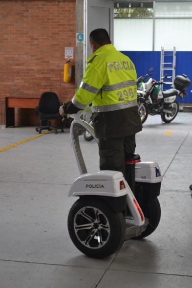 Personal Transporter Freeyoyo G3 Cargo in Colombia for Police