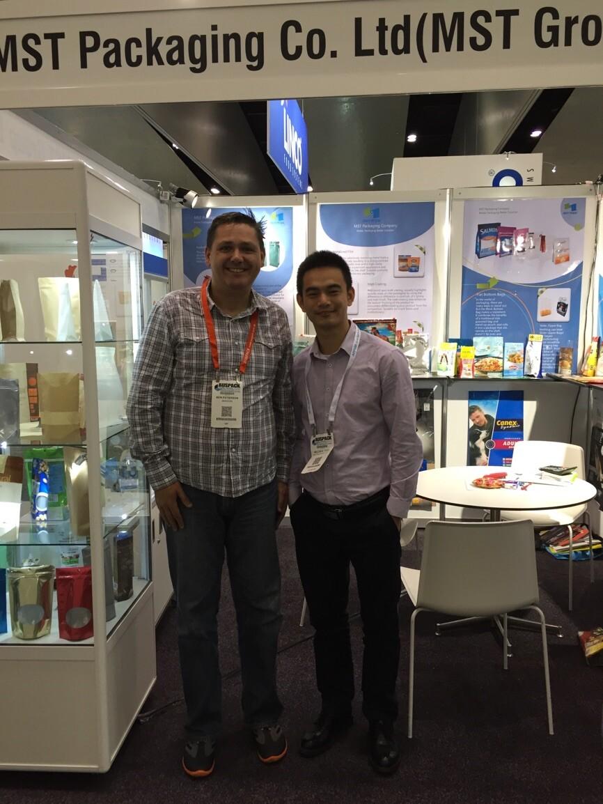 2015 Australian Packaging Exhibition---Ben & Michael