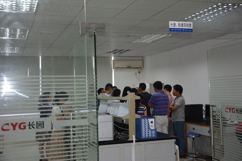 The spectrum and HPLC lab