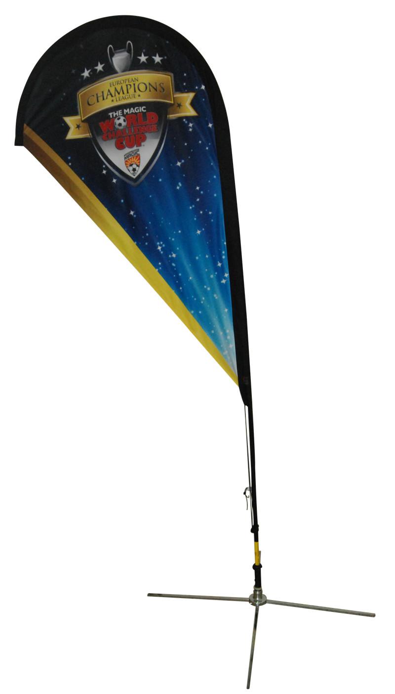 Tear Drop Flag for Promotion