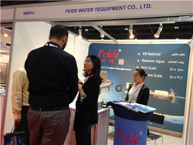 Peide attend Dubai Energy Water Treatment Environmental Protection Exhibition on April 14, 2014