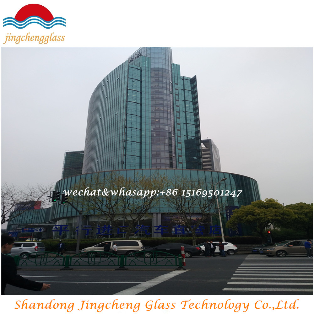outline low-e glass6mm+12A+6mm clear glass