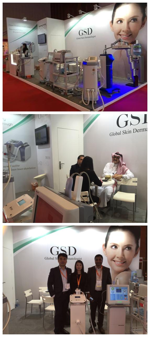 GSD @ 2015 Dubai Derma