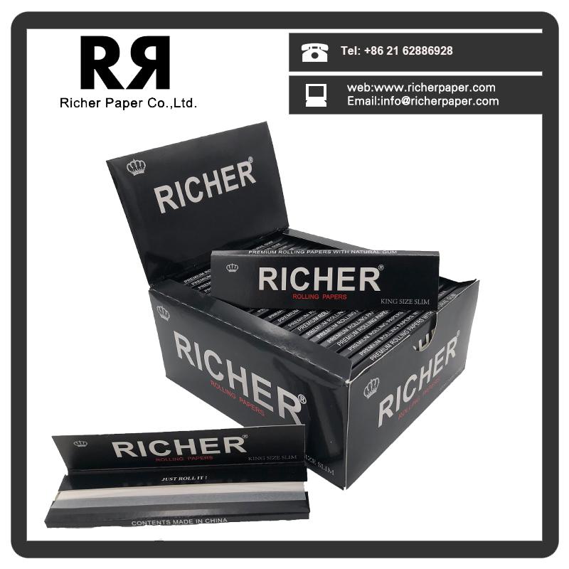 1 1/4 Richer Brand Cigarette Rolling Paper