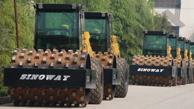 SWR214P Soil Compactor to Mexico