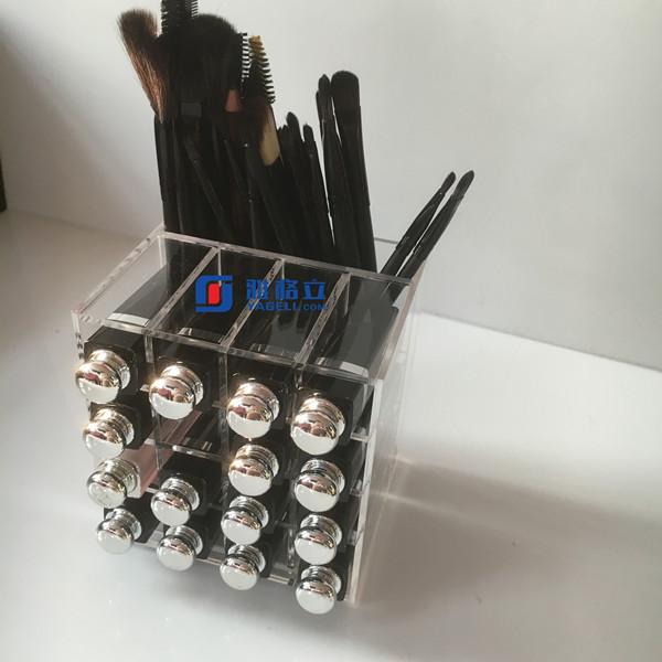 OEM luxury glamrous acrylic display beauty box