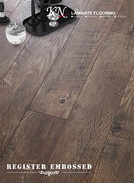 Oak HDF Laminated Flooring Embossed-in-Register(EIR)