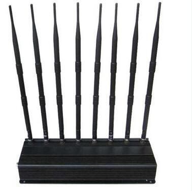 8 Band Power Adjustable Mobile signal Jammer