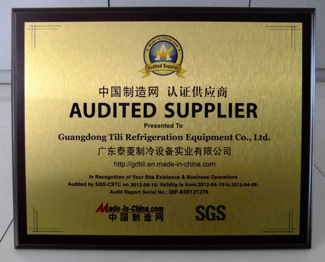 Audited Supplier Approved by SGS in 2012