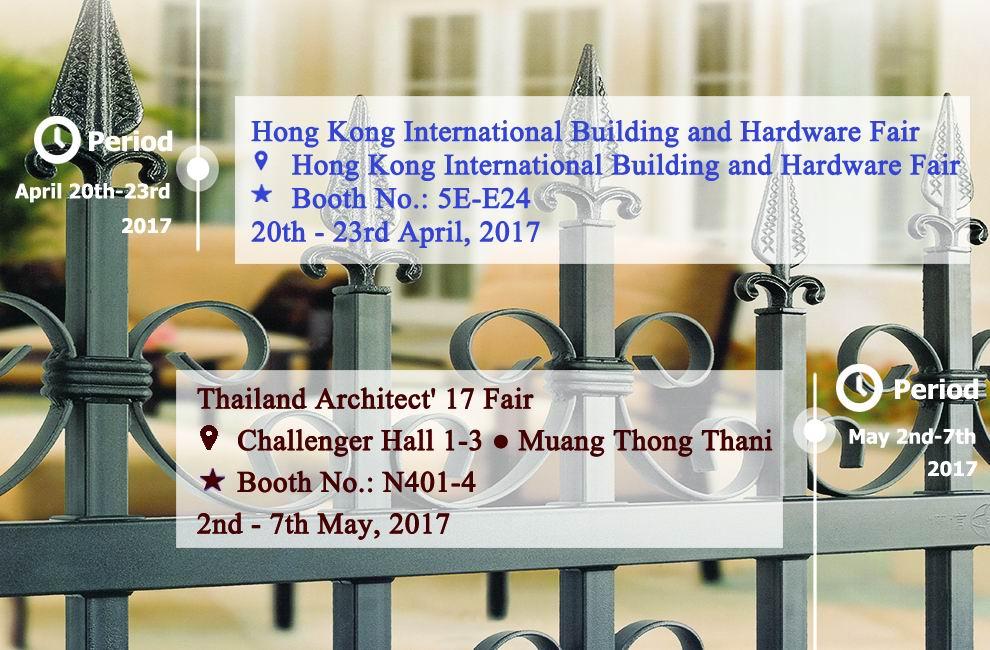 Building & Hardware Fair--Apr & May, 2017
