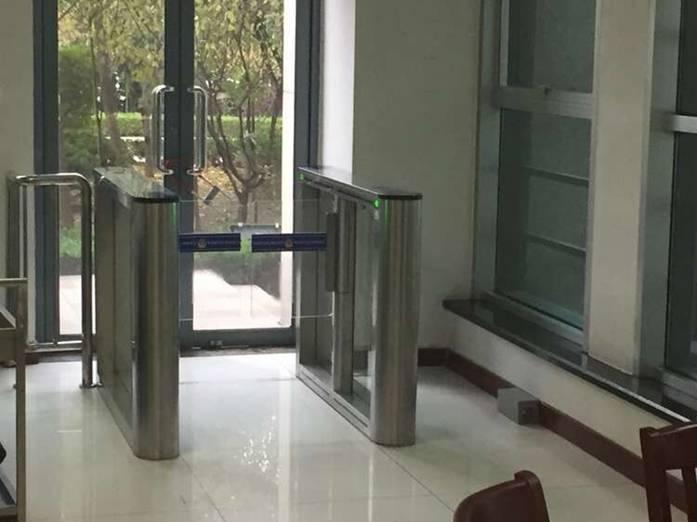 Access Control Turnstiles in Shandong Public Security Bureau