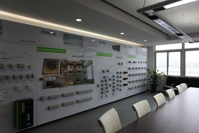show room of our company