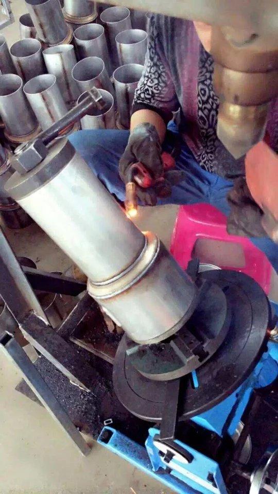 welding positioners practical cases