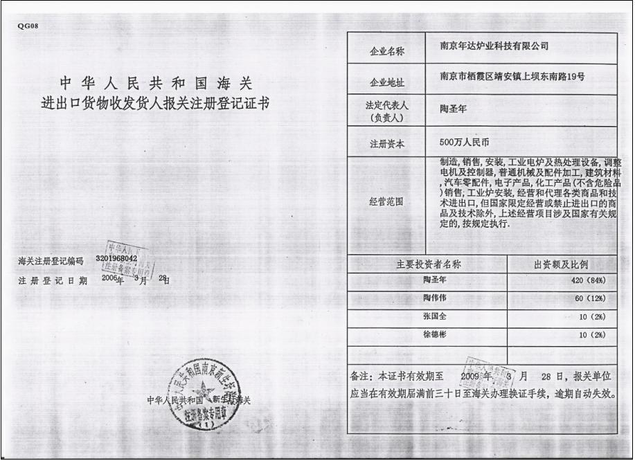 Company Licence 2