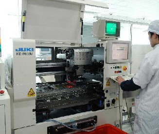 High speed chip mount machine