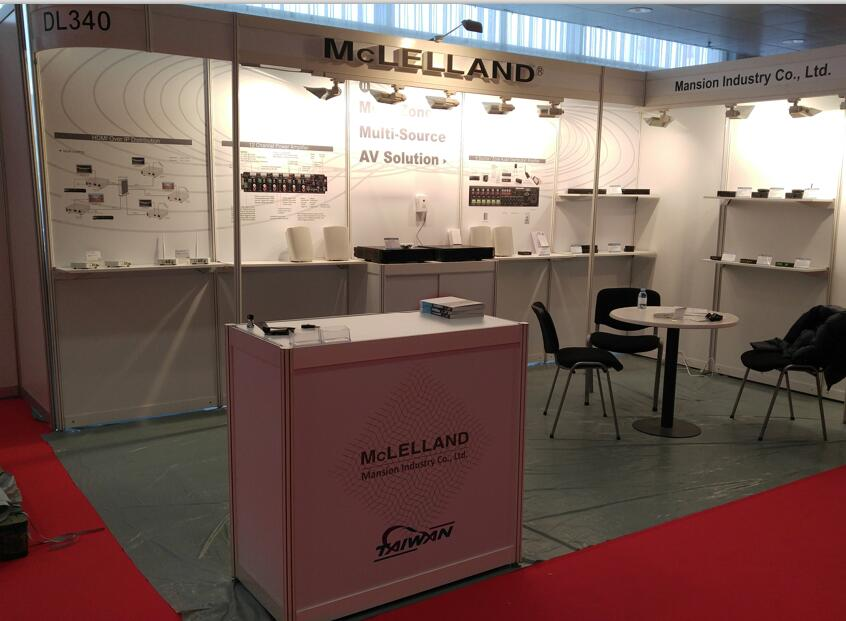Mansion McLELLAND ISE2016show
