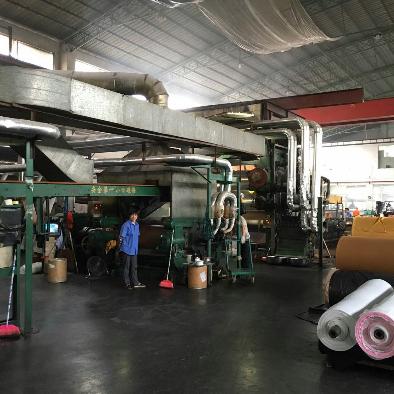Equipment for the PU Leather Production
