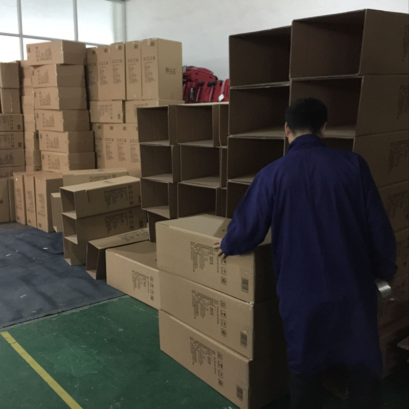 Packing the product into cartons