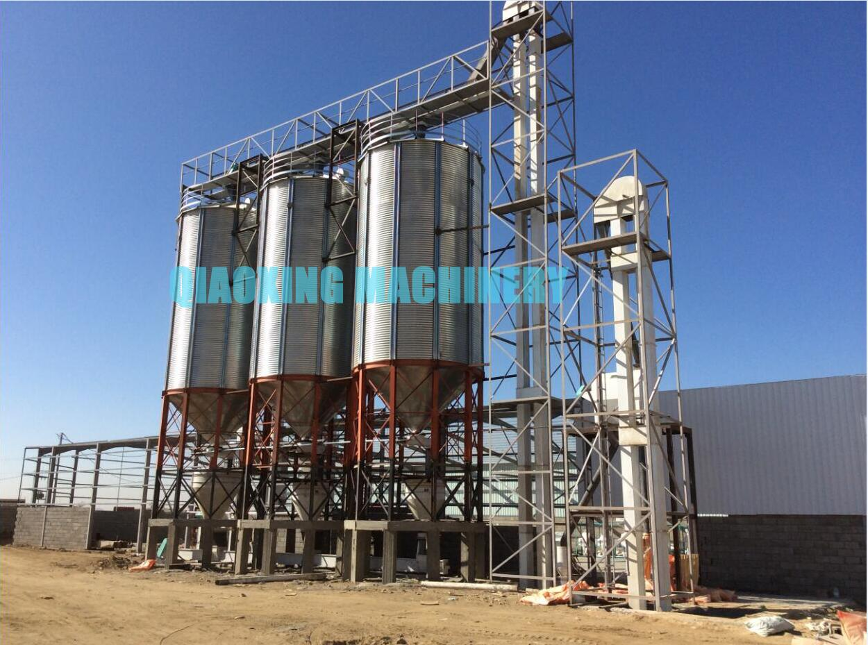 Silo Project In Saudi Arabia