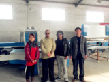 With Foreigner Customer in The Workshop