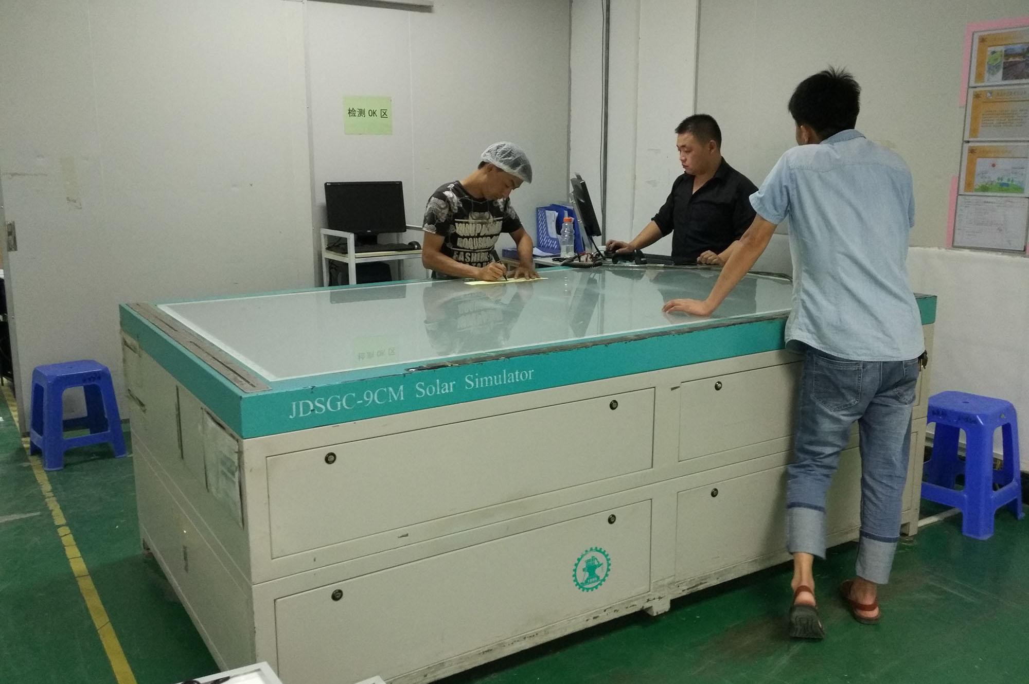 EL Testing Before Shipment