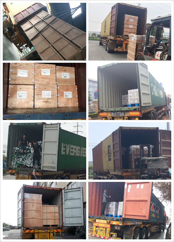 Qili succeed in a heavy task in October , loading eight container to customers in Europe and America