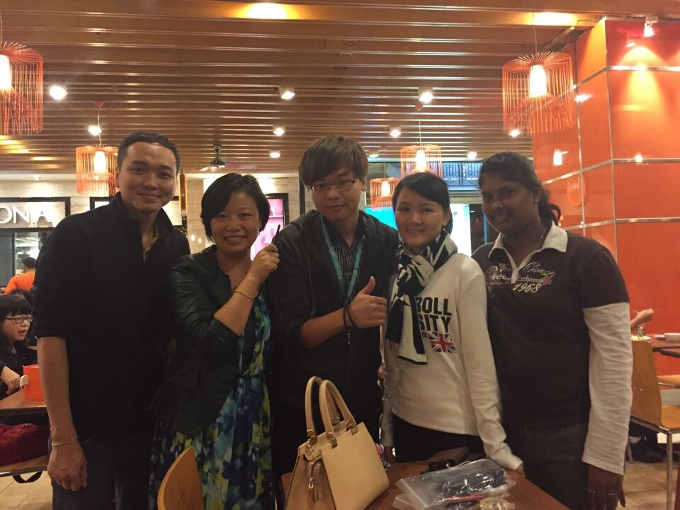 in 2014 November to Malaysia Genting international training work