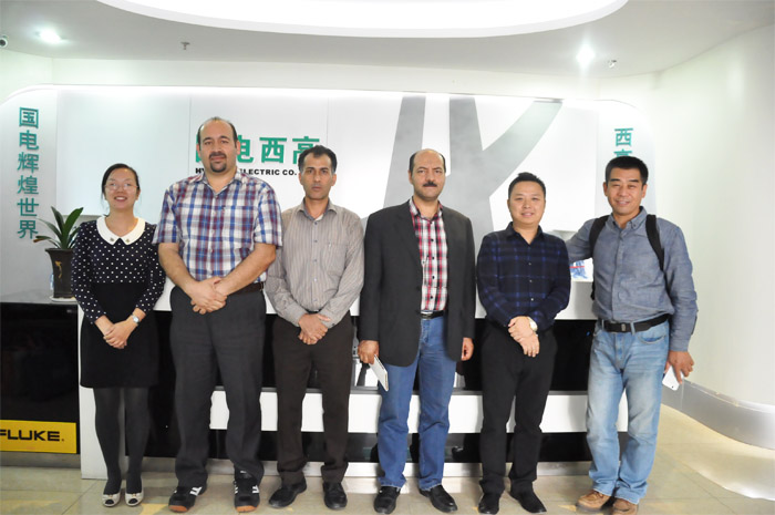 Iran Client came to visit HV Hipot Electric Co.ltd