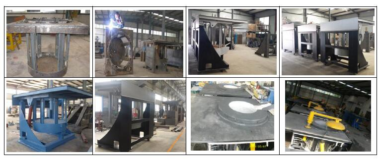 Steel Melting Induction Furnace Producing