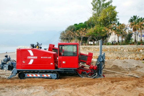 Rx33X120 HDD Horizontal Directional Drill Rigs in Netherlands