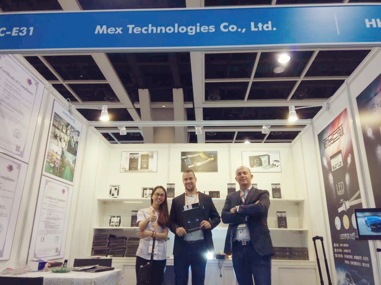 HK Fair met our America client
