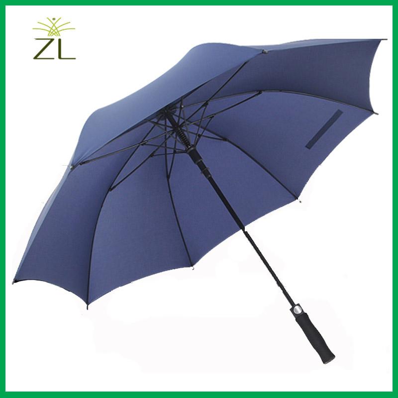 Personal customs designer print golf straight advertising umbrella