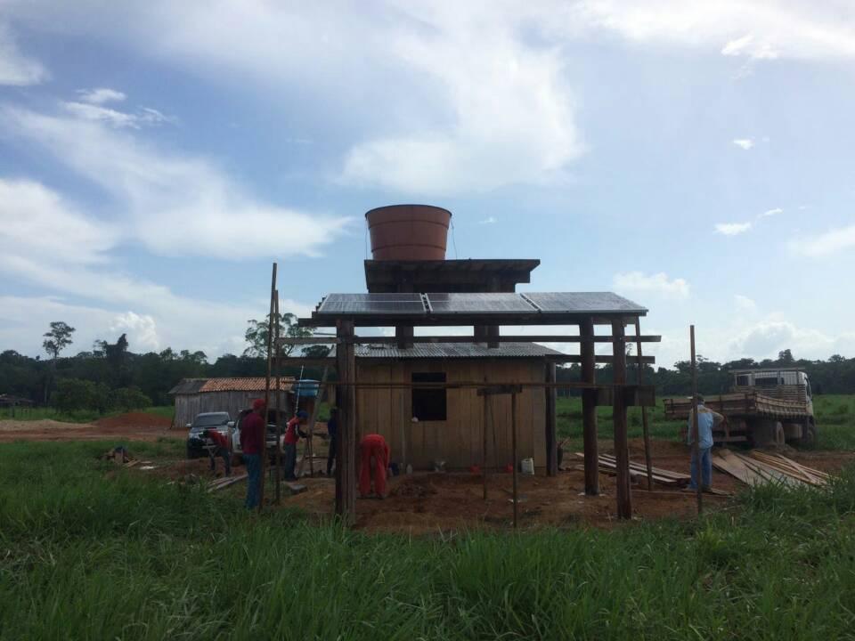 solar water pump in Brazil