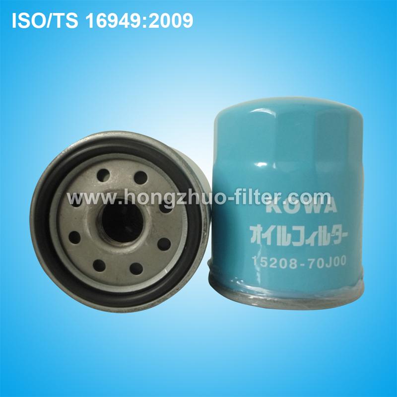 oil filter 15208-70J00
