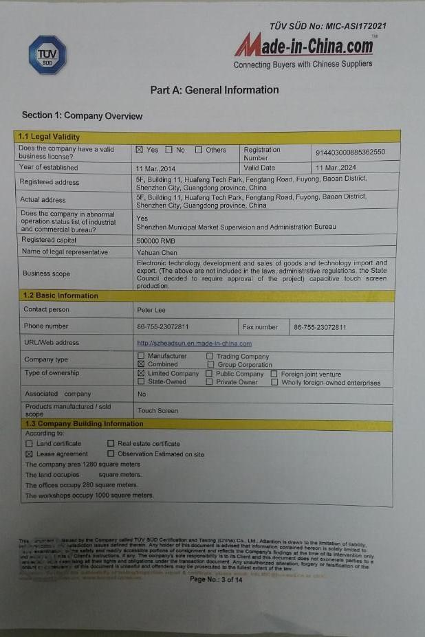 Audited report