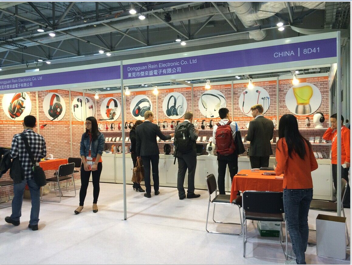 We attended HongKong Electronic Fair on 11th -14th,Octorber,2015