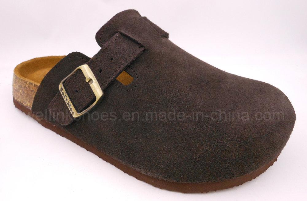 WL161124 2017 Cork Shoes Cork Sandal Birken Stock Sandal Cork Slipper
