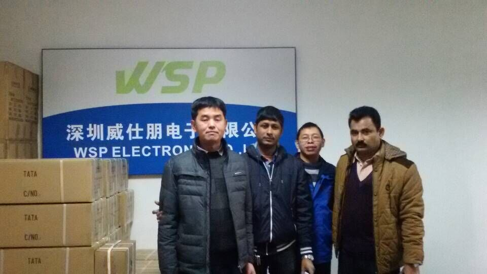 Welcome Bangladesh customers to visit our factory!