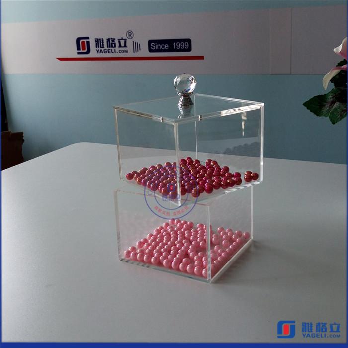 custom acrylic display box with lid