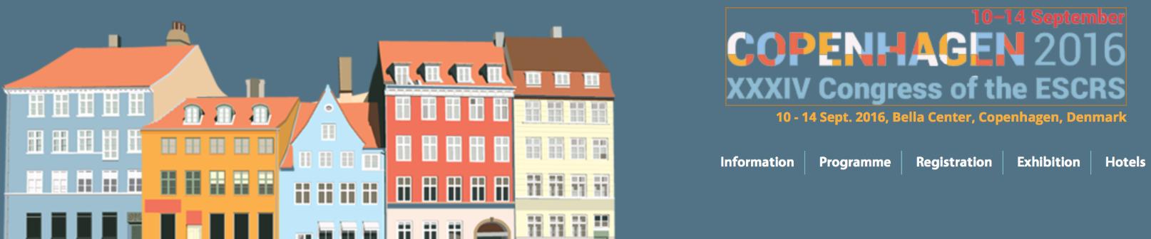 Visit us in ESCRS COBENHAGEN 10-14 Sept. 2016
