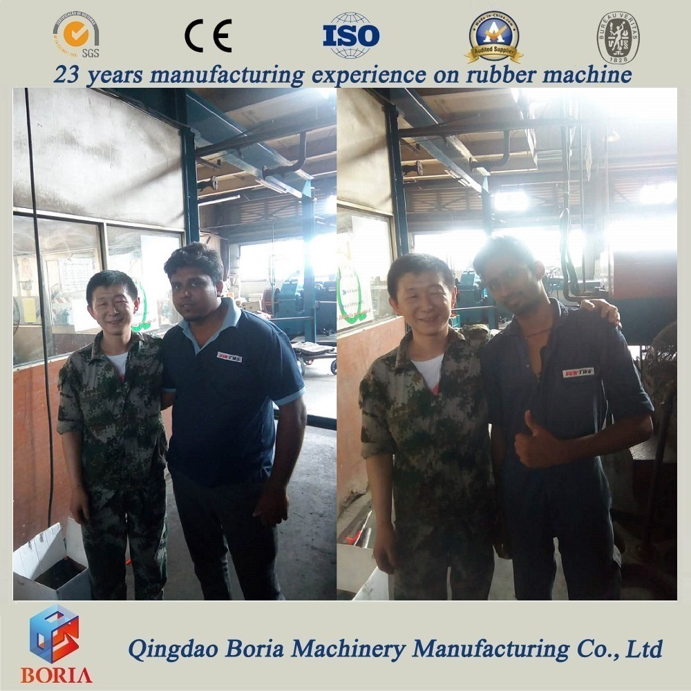Rubber Sheet Cooling Machine Installed And Tested Run Successfully in Sri Lanka in 2017