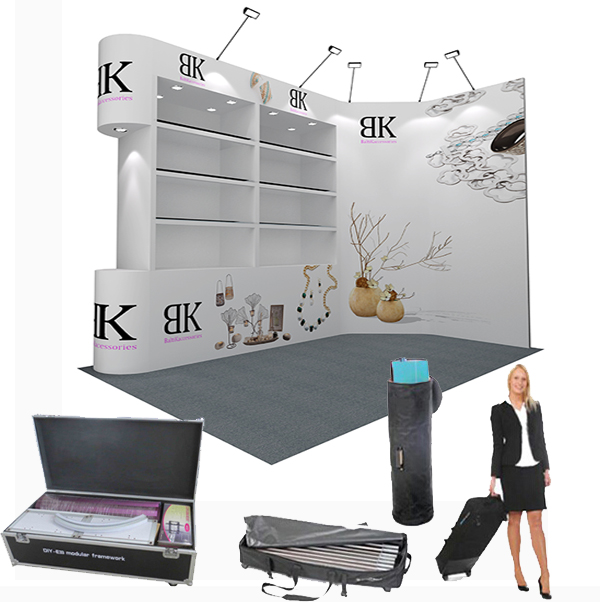 How to cut cost of exhibition booth stands design and construction