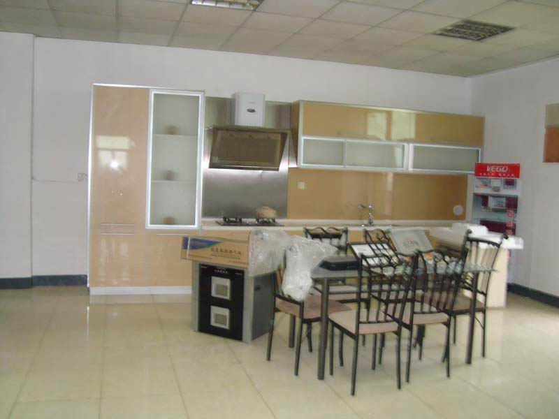 UV kitchen cabinets