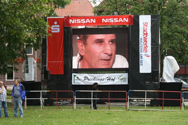 P10 Outdoor LED Display Project in Germany