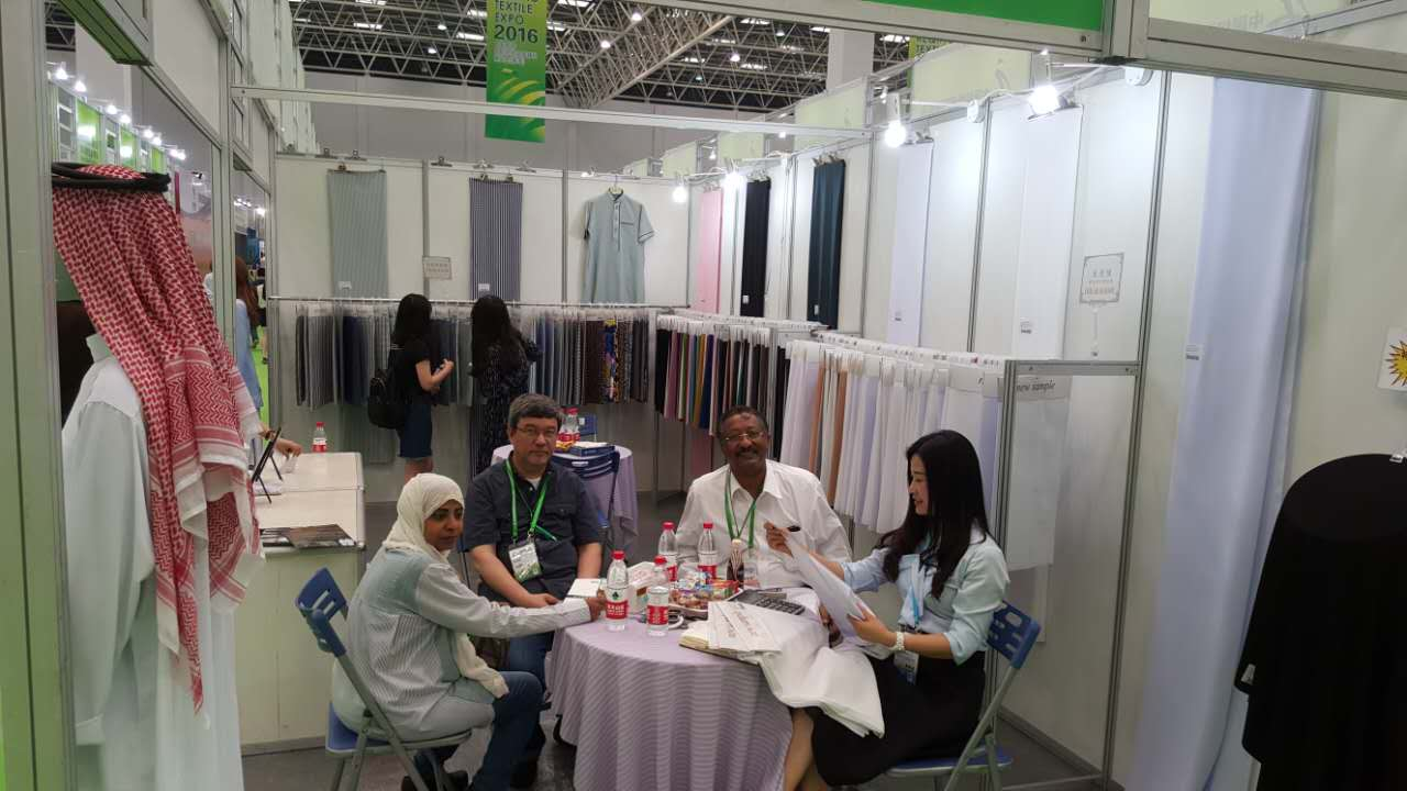 OUR COMPANY EXHIBITION IN SHENGZE,WUJIANG