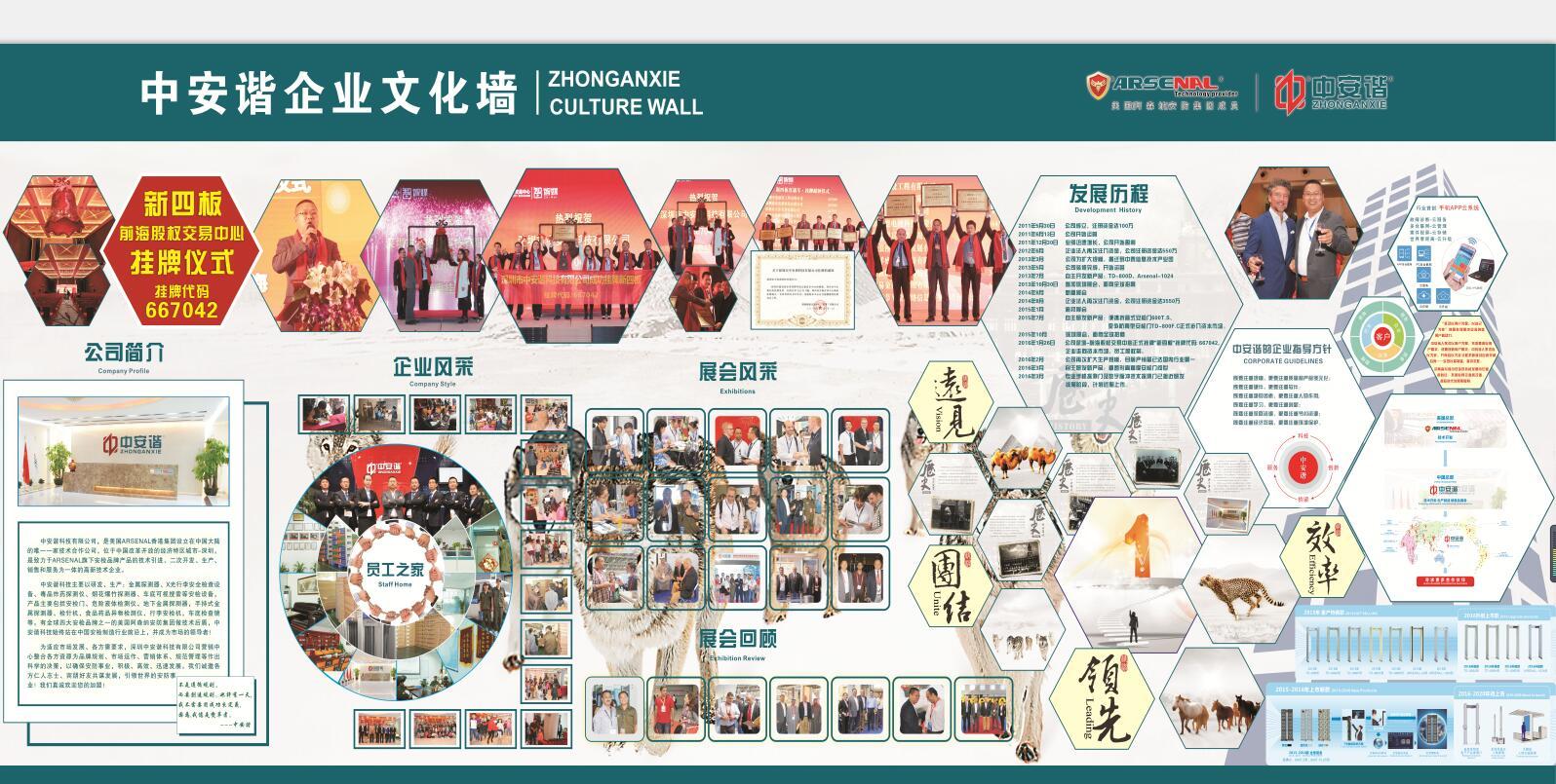 company cultural wall
