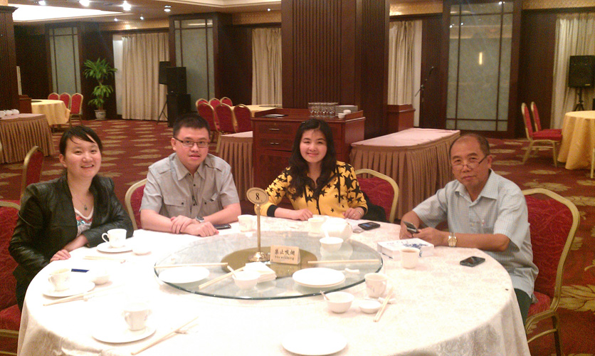 Indonesia customer visit