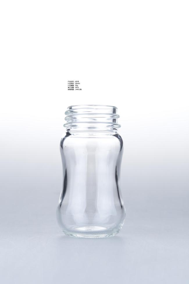 borosilicate glass feeding bottle /milk glass bottle
