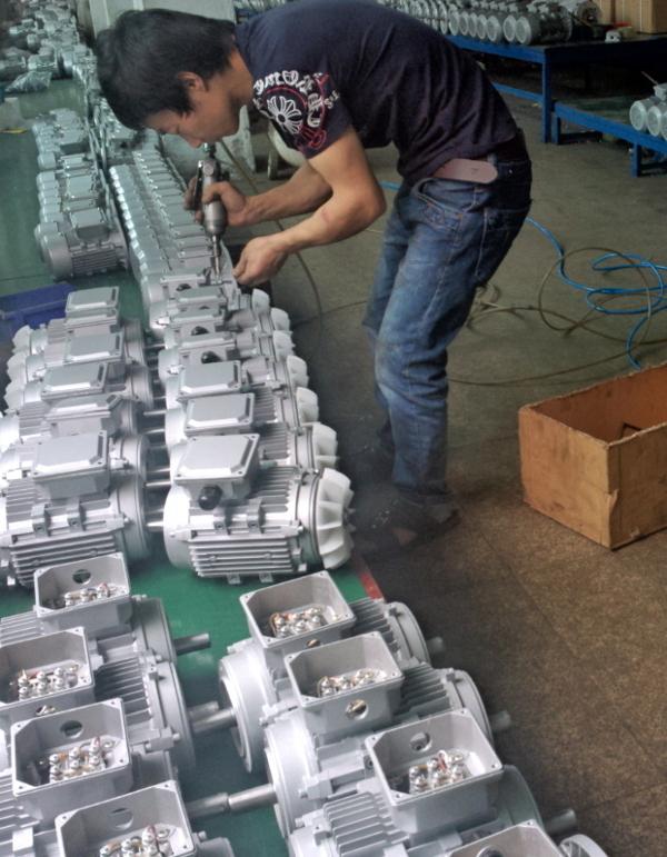 Assembling Aluminum Motor