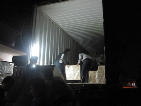 Container to USA